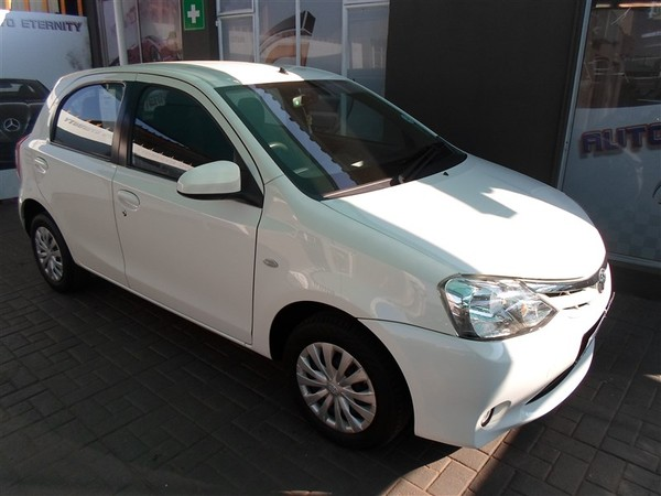 2015 Toyota Etios 1.5 Xs  Gauteng Johannesburg_0