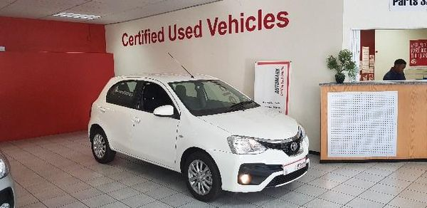 2018 Toyota Etios 1.5 Xs 5dr  Gauteng Springs_0
