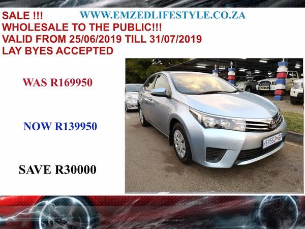 2016 Toyota Corolla 1.3 Esteem Gauteng Benoni_0