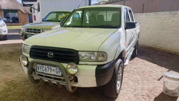 2001 Mazda B-Series B 2600i SLX Drifter Bakkie Double cab Gauteng Springs_0