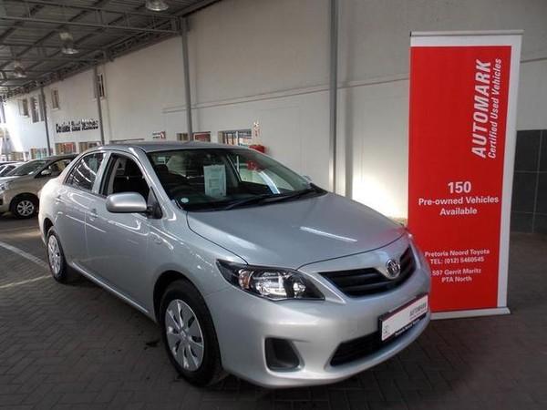 2017 Toyota Corolla Quest 1.6 Gauteng Pretoria North_0