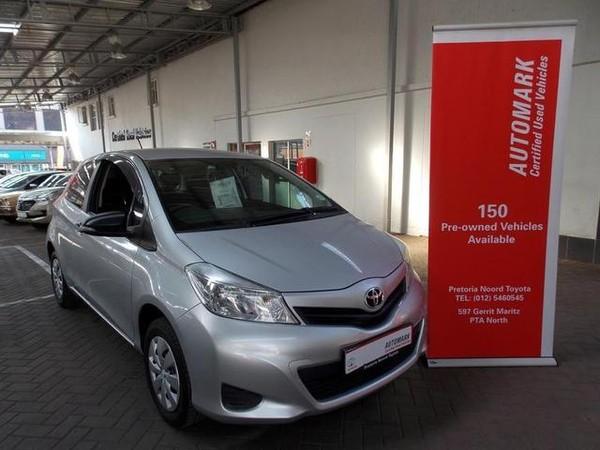 2013 Toyota Yaris T1 3dr  Gauteng Pretoria North_0