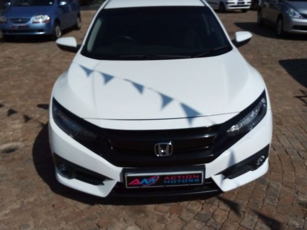 2016 Honda Civic 1.5T Executive CVT Gauteng Lenasia_0