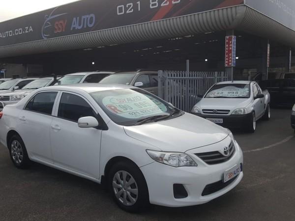 2010 Toyota Corolla 1.3 Professional  Western Cape Parow_0