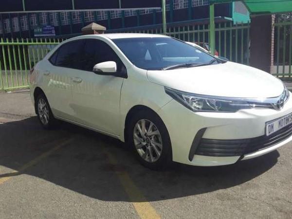 2017 Toyota Corolla 1.6 Prestige CVT automatic.petrol Gauteng Rosettenville_0