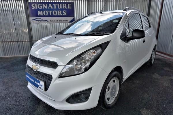 2016 Chevrolet Spark Pronto 1.2 FC Panel van Gauteng Boksburg_0