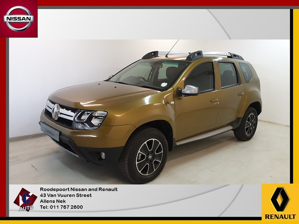 2017 Renault Duster 1.5 dCI Dynamique 4x4 Gauteng Roodepoort_0