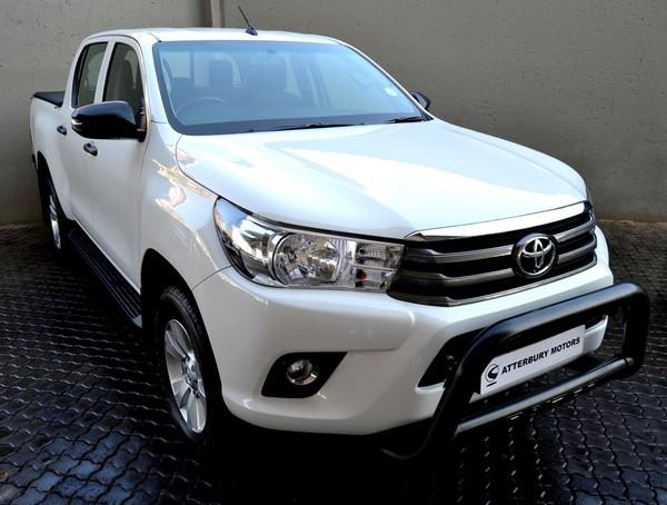 2018 Toyota Hilux 2.7 VVTi RB SRX Double Cab Bakkie Gauteng Pretoria_0