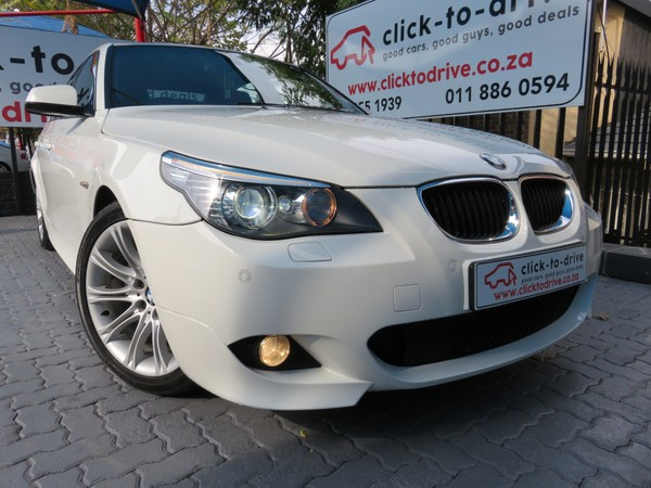 2009 BMW 5 Series 520d At M-sport Immaculate. Gauteng Randburg_0