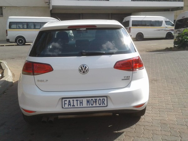 2013 Volkswagen Golf Golf 7 tsi bluemotion  Gauteng Johannesburg_0