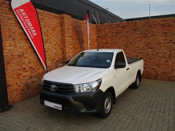 2019 Toyota Hilux 2.4 GD AC Single Cab Bakkie Gauteng Boksburg_0