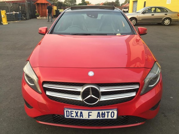2013 Mercedes-Benz A-Class A 180 Avantgarde At  Gauteng Bramley_0