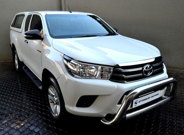 2017 Toyota Hilux 2.4 GD-6 RB SRX Extended Cab Bakkie Gauteng Pretoria_0