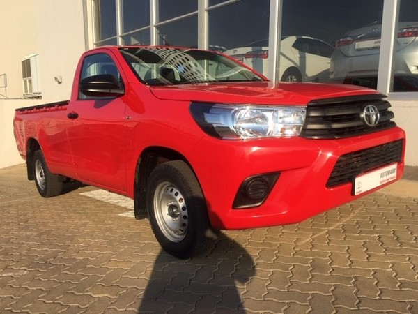 2017 Toyota Hilux 2.0 VVT Single Cab Bakkie North West Province Rustenburg_0