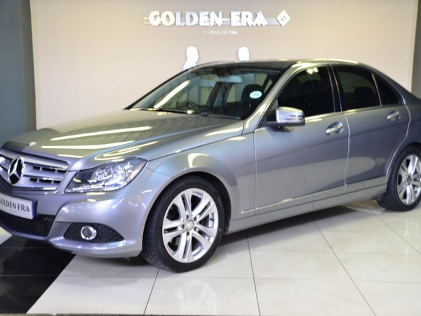 2012 Mercedes-Benz C-Class C200 Be Avantgarde At  Gauteng Pretoria_0
