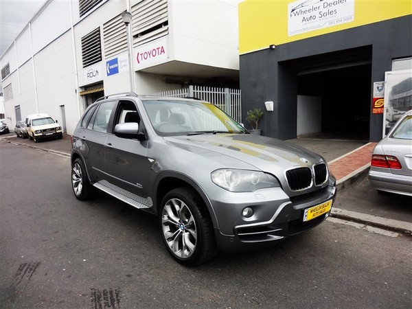 2007 BMW X5 3.0d Exclusive At e70  Western Cape Strand_0
