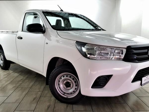 2018 Toyota Hilux 2.4 GD Single Cab Bakkie Free State Bloemfontein_0