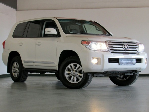 2012 Toyota Land Cruiser 200 V8 4.5d Vx At  Gauteng Pretoria_0