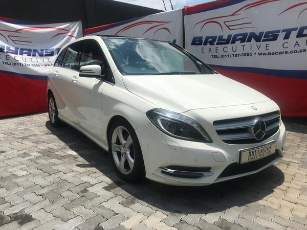 2013 Mercedes-Benz B-Class B 180 Be At  Gauteng Bryanston_0