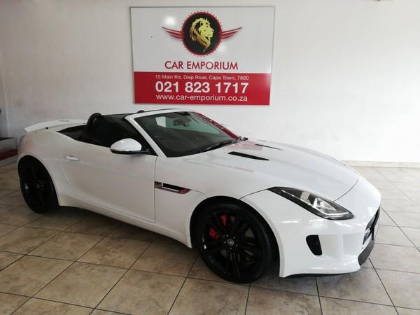 2015 Jaguar F-TYPE S 3.0 V6 Convertible Auto Western Cape Diep River_0