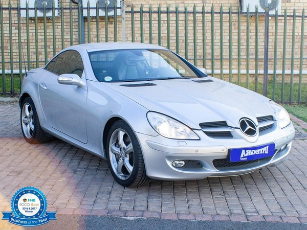 2006 Mercedes-Benz SLK-Class Slk 350 At  Gauteng Roodepoort_0