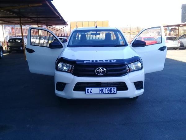 2017 Toyota Hilux 2.0 VVT Single Cab Bakkie Gauteng Sandton_0