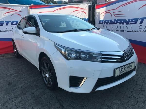 2014 Toyota Corolla 1.3 Esteem Gauteng Bryanston_0