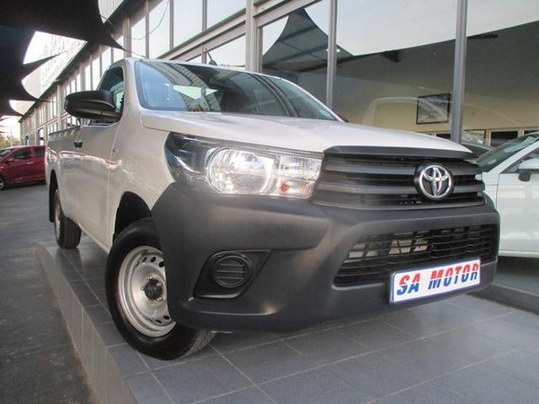 2018 Toyota Hilux 2.4 GD Single Cab Bakkie Gauteng Randburg_0