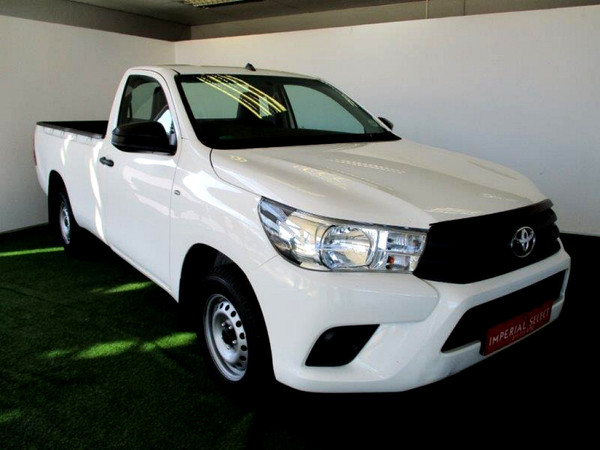 2017 Toyota Hilux 2.4 GD AC Single Cab Bakkie Gauteng Randburg_0