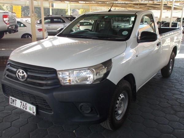 2016 Toyota Hilux 2.4 GD Single Cab Bakkie Gauteng Pretoria North_0