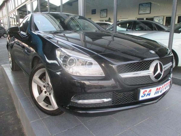 2012 Mercedes-Benz SLK-Class Slk 200 At  Gauteng Randburg_0