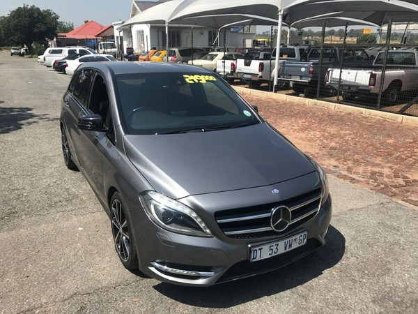 2013 Mercedes-Benz B-Class B 200 Cdi Be At  Gauteng Boksburg_0
