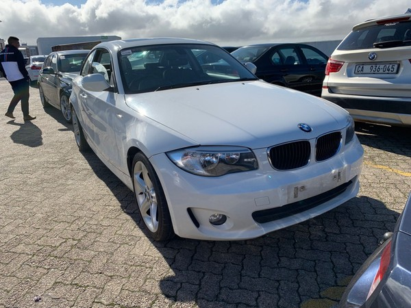 2012 BMW 1 Series 120d Coupe Exlusive At Call Kent 079 899 2793 Western Cape Claremont_0