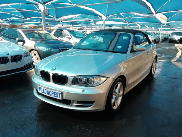2009 BMW 1 Series 120i Convertible At  Gauteng Randburg_0