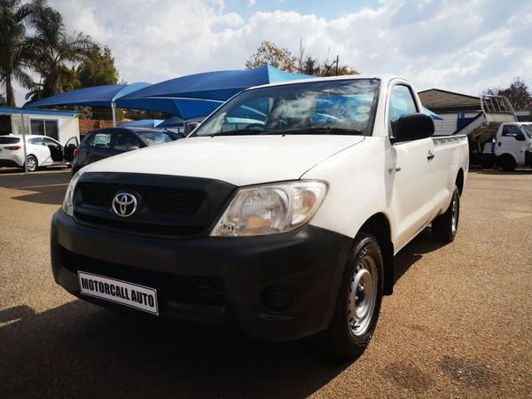 2010 Toyota Hilux 2.0 Vvt-i Pu Sc  Gauteng Centurion_0
