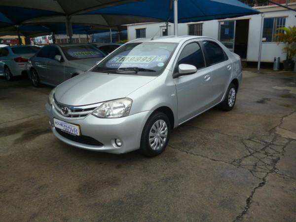 2014 Toyota Etios 1.5 Xs  Kwazulu Natal Pietermaritzburg_0