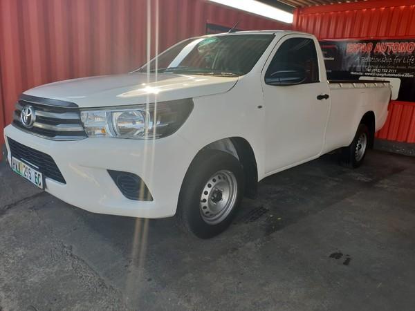 2016 Toyota Hilux 2.0 VVT Single Cab Bakkie Gauteng Pretoria_0