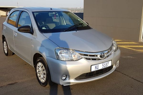 2013 Toyota Etios 1.5 Xs  Kwazulu Natal Bluff_0