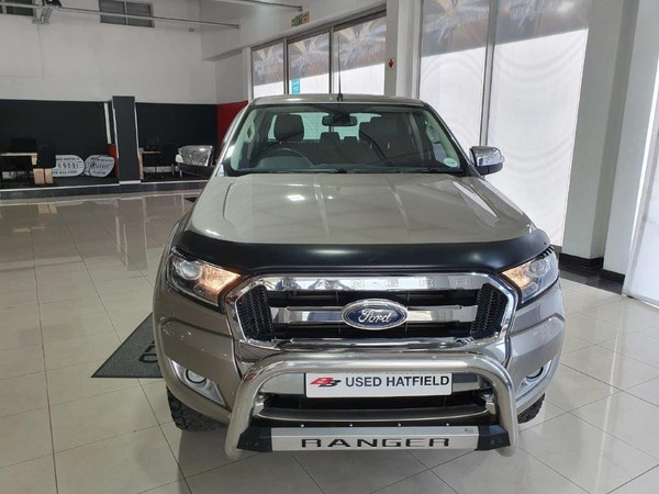 2017 Ford Ranger 3.2TDCi XLT AT Double cab Gauteng Hatfield_0