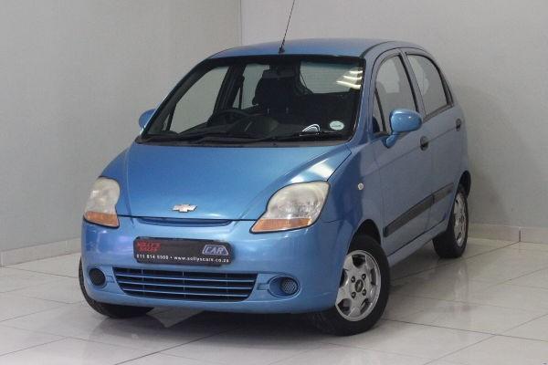 2008 Chevrolet Spark 1.0 Ls 5dr Manual Gauteng Nigel_0