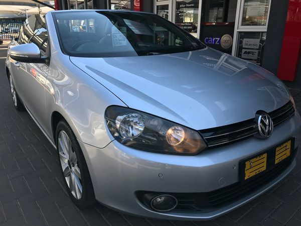 2014 Volkswagen Golf Vi 1.4 Tsi Dsg Cabrio 118kw Hline  Gauteng Vanderbijlpark_0