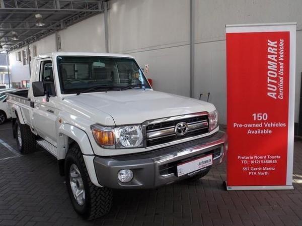 2017 Toyota Land Cruiser 79 4.2d Pu Sc  Gauteng Pretoria North_0