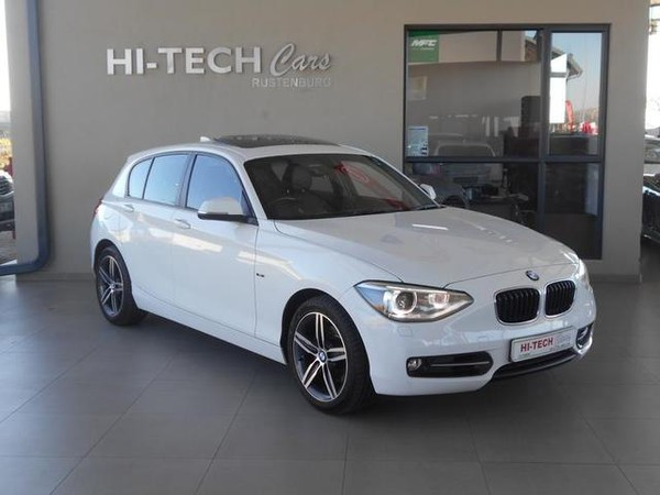 2013 BMW 1 Series 120d Sport Line 5dr At f20 with Sunroof North West Province Rustenburg_0