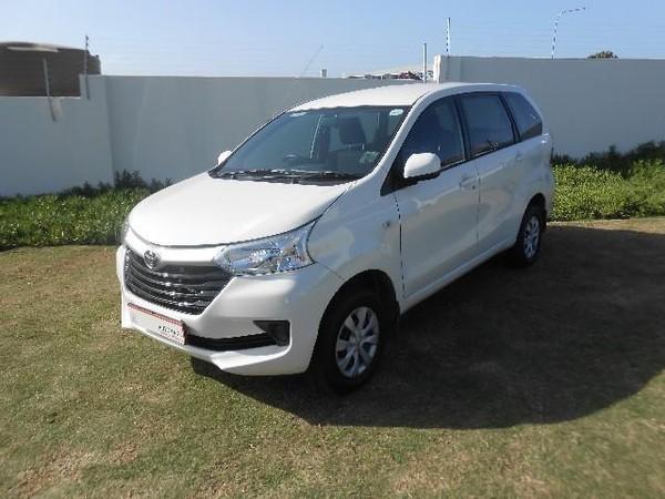 2019 Toyota Avanza 1.5 SX Eastern Cape Port Elizabeth_0