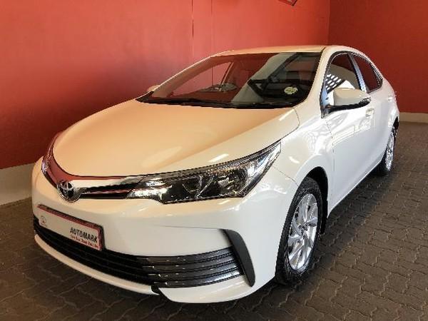 2018 Toyota Corolla 1.6 Prestige CVT Free State Bloemfontein_0