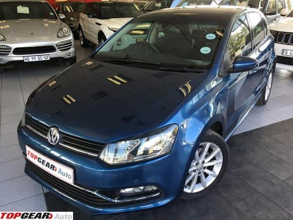 2016 Volkswagen Polo 1.2 TSI Highline DSG 81KW Gauteng Bryanston_0