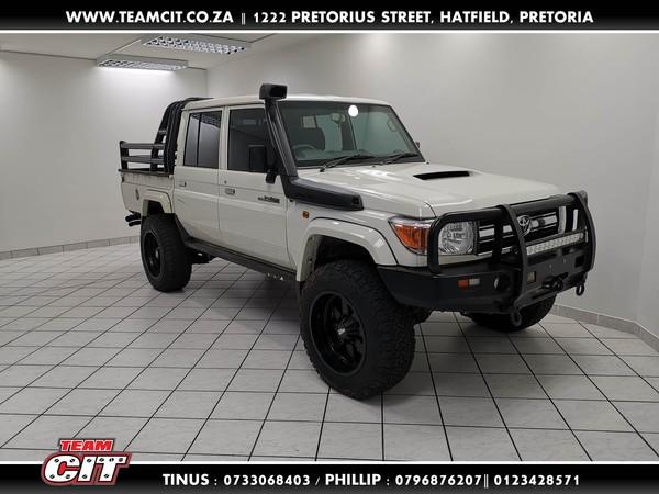 2018 Toyota Land Cruiser 79 4.2d Pu Dc  Gauteng Pretoria_0