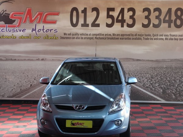 2011 Hyundai i20 1.4  Gauteng Pretoria_0