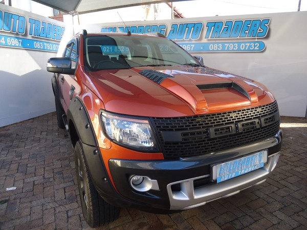 2015 Ford Ranger 3.2tdci Wildtrak Bakkie Double cab Western Cape Somerset West_0