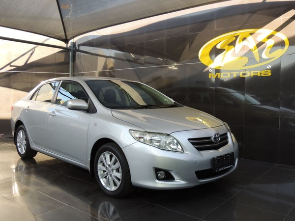 2007 Toyota Corolla 1.4 Advanced  Gauteng Vereeniging_0